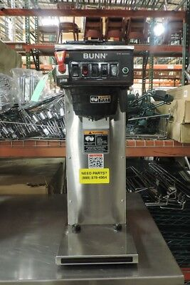 Bunn Cwtf-aps Series Commercial Coffee Brewer With Plastic Funnel 240v 1 Phase