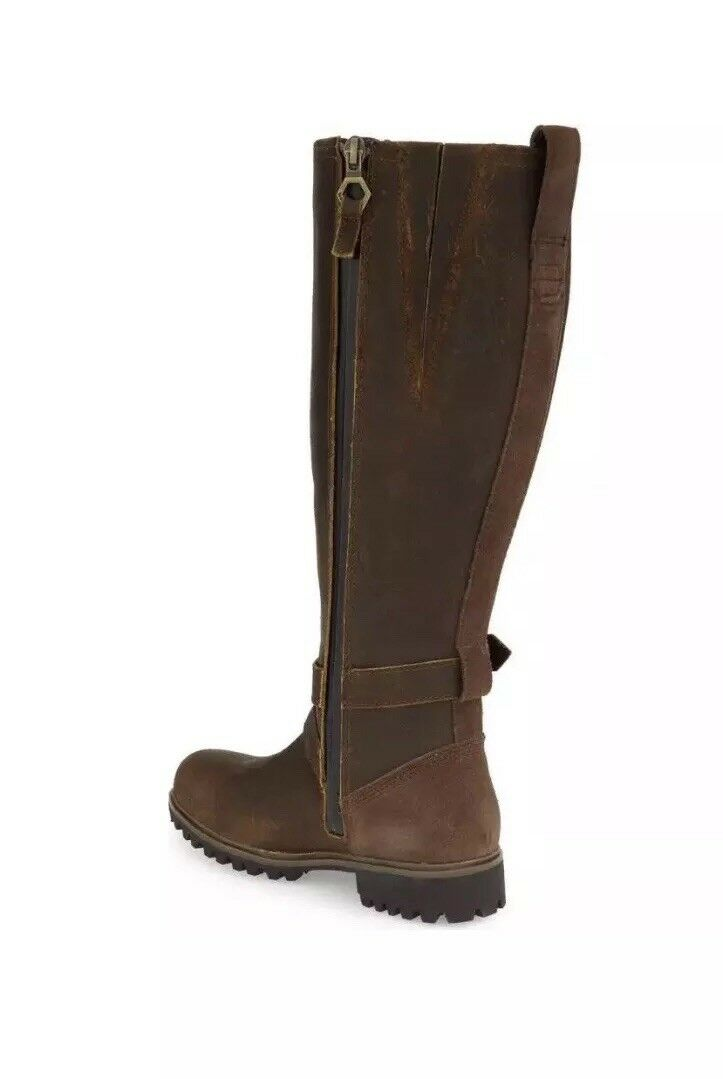 Timberland Women's Wheel Wright Wide Calf Brown Size 8. Boots NEW 1