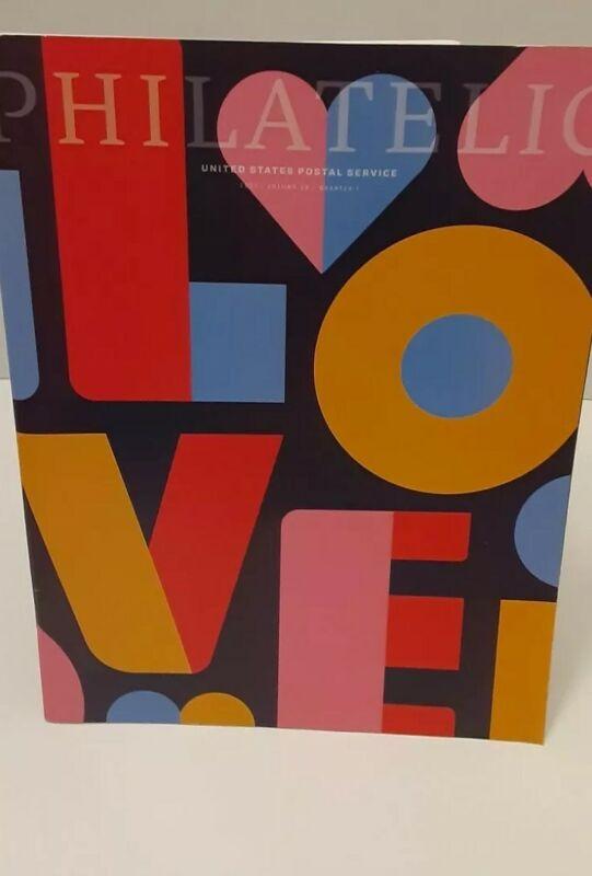 LOVE 2021 Philatelic USPS CatalogVolume 26 quarter 1