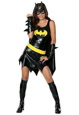 Batgirl Superhero Costume DC Comics Halloween Fancy Dress cosplay NEW * TEEN 2-6
