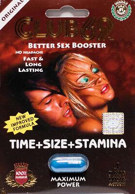 Club 69 Male Sexual Enhancement Pill Better Sex, Fast & Long Lasting, Free Ship (Best Long Lasting Pills)