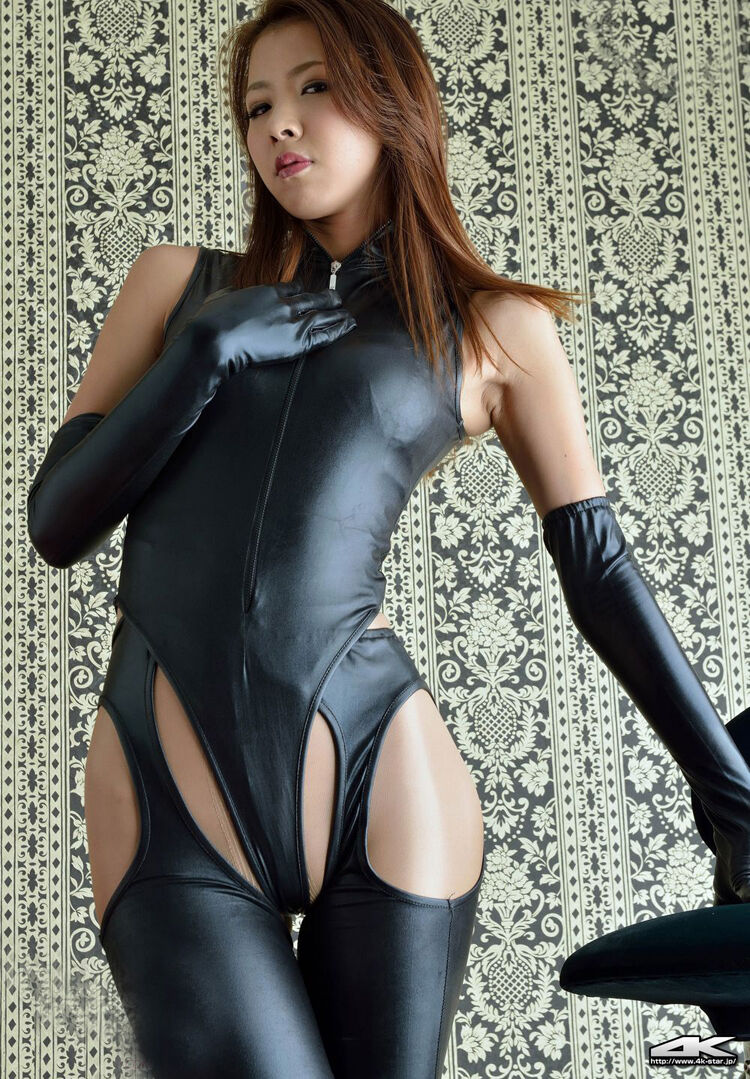 Sexy Lingerie Elastic Latex Mistress Costume Gloves