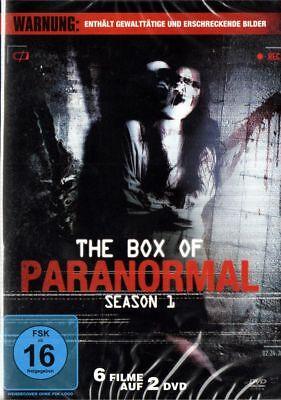 The Box of Paranormal - 6 Grusel Filme 2 DVD Box NEU Halloween Horror Geister