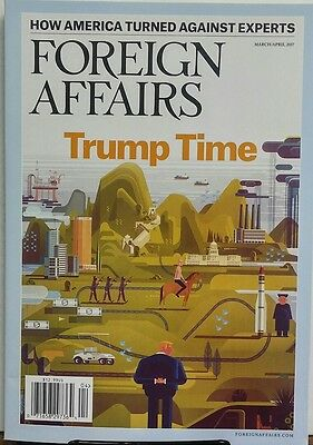Foreign Affairs March April 2017 Donald Trump Time America FREE SHIPPING sb