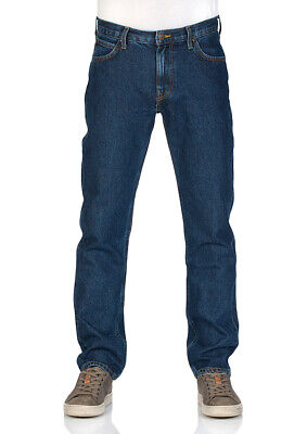 Lee Herren Relaxed Fit Jean (Lee Herren Jeans Morton Relaxed Fit - Blau - Dark Stonewash)