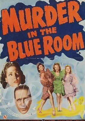 MURDER IN THE BLUE ROOM (1944) ANNE GWYNN RARE