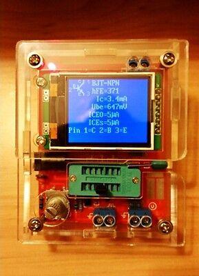 2019 Transistor Tester Tft Diode Triode Capacitance Meter Lcr Esr Mosfet Case