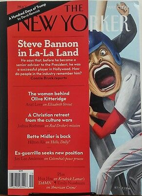The New Yorker May 1 2017 Steve Bannon In La La Land Trump Free Shipping Sb
