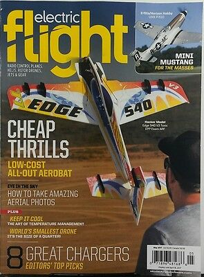 Electric Flight May 2017 Cheap Thrills Low Cost All Out Aerobat Free Shipping Sb