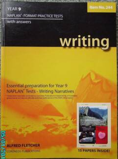 ESSENTIAL PREPARATION FOR YEAR 9 NAPLAN TESTS -WRITING NARRATIVES