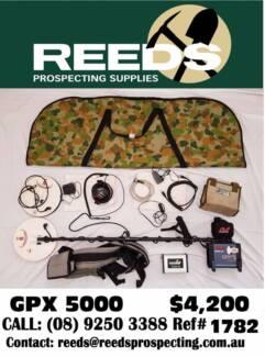 GPX5000 Metal Detector Minelab Ref 1782