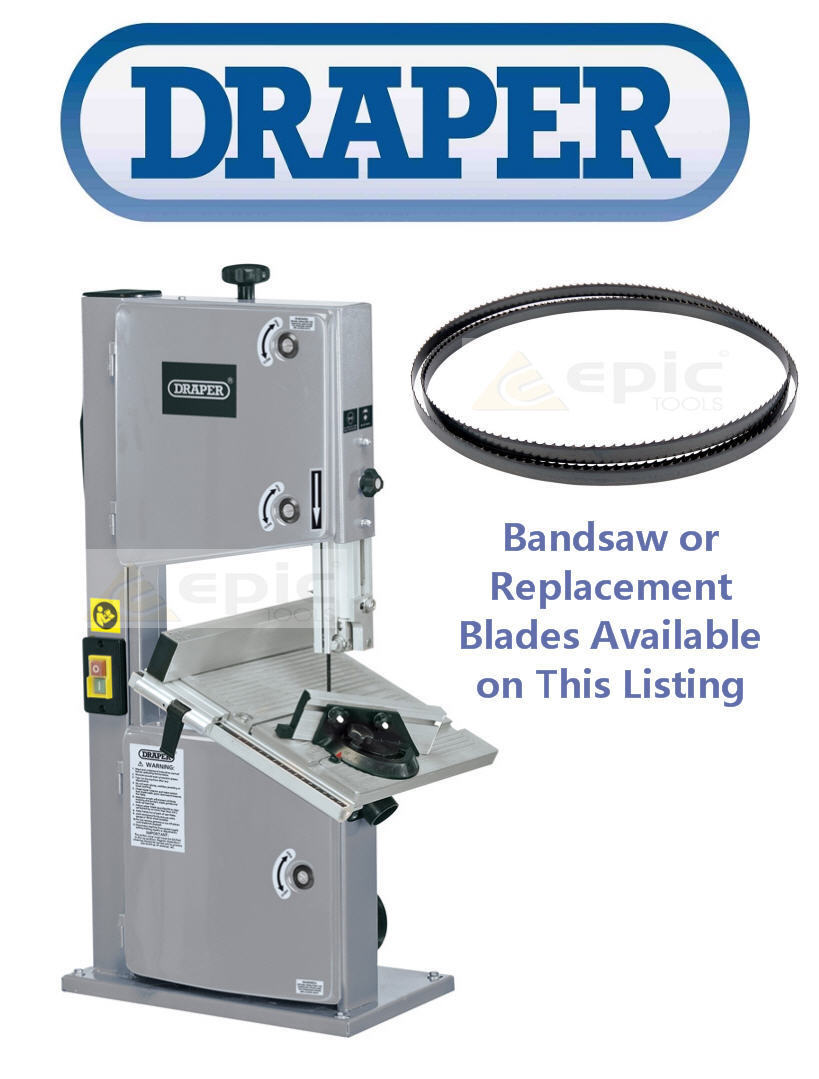 Draper 25766 1785mm x 1//4 in x 6 Skip Bandsaw Blade