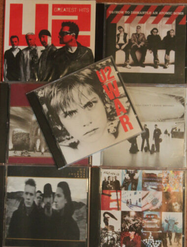U2 - Best Songs Greatest Collection Music 8 Cd Set