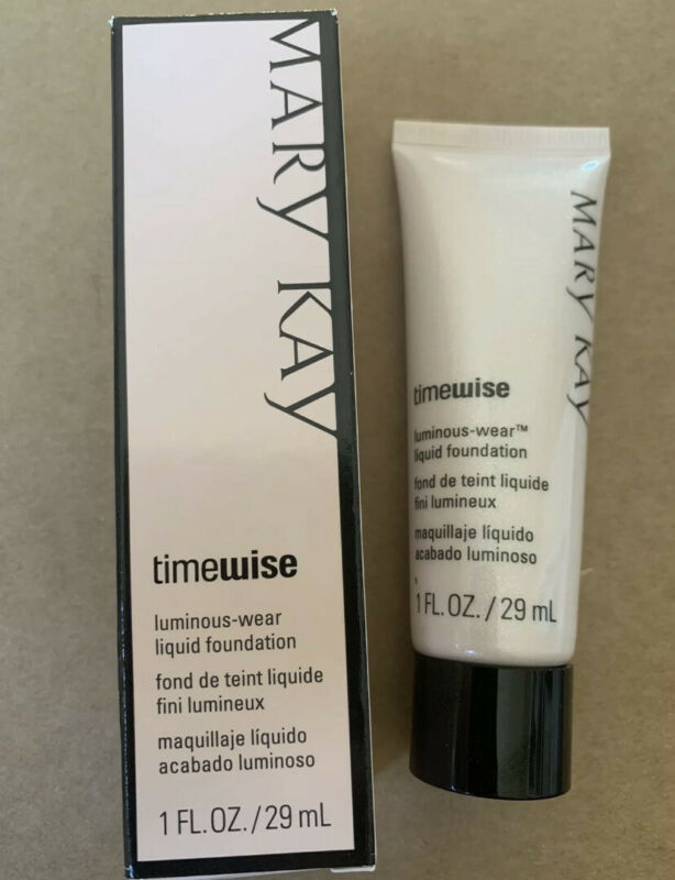 Mary Kay Timewise Luminous Wear Foundation - Ivory, Beige, Bronze ~ You Choose