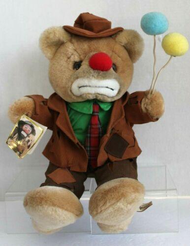1988 Vintage Emmett Kelly Jr. Luigi Amani Animal Clown Hobo Bear Plush