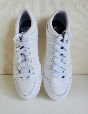 K Swiss Mens White Trainers Size 8