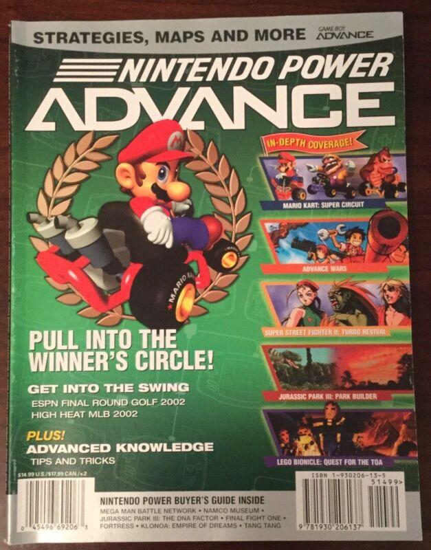Nintendo Power Advance Magazine Volume 2 Brand New! Never Used! Rare!