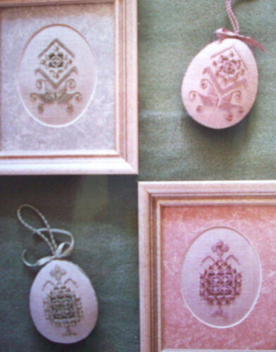 Eggs or Oval Hardanger pattern only 2 designs