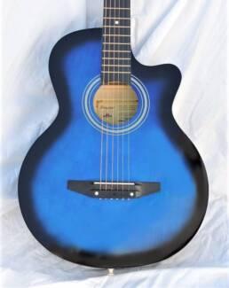 D36CA-BL Cutaway Steel String Acoustic