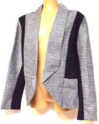 TS jacket TAKING SHAPE plus sz XXS / 12 Icicle Jacket crop comfy NWT rrp$229.95!