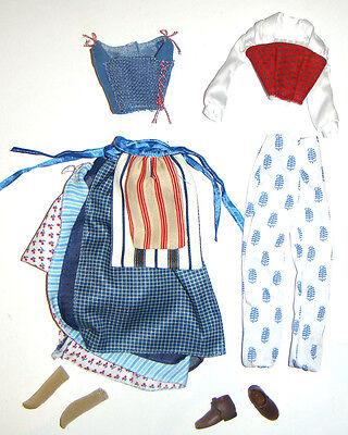 Disney Fashion Belle Signature Peasant Costume For Dolls db9](Peasant Belle Costume)