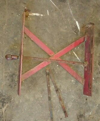 Massey Harris 30 Tractor Radiator Mount Bracket With Strips Mh Parts