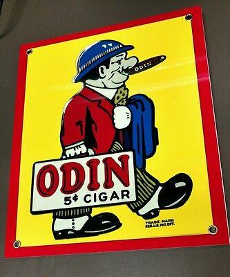 Odin Cigar Cigars Tobacco sign