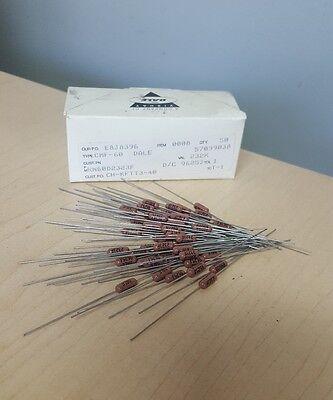 Dale Vishay Cmf-60-106 Resistor 100 Ohm Lot Of 50