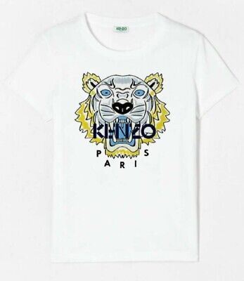 Kenzo Tiger T-shirt White Brand New Limited Edition