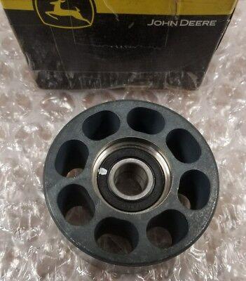 John Deere Oem Part Re505265 Idler Tensioner Belt Pulley Tractor Engine Etc