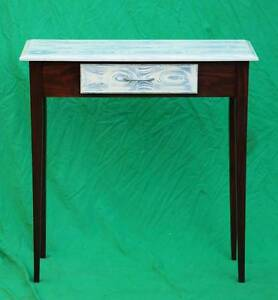 Unique Solid Wood Hall Table with Painted Finish to top-Del.Avail Atwell Cockburn Area Preview