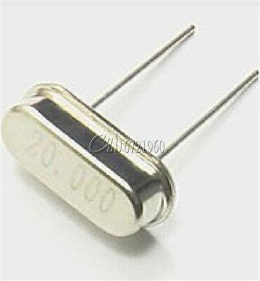 20pcs New 20.000mhz 20mhz 20m Hz Hc-49s Crystal Oscillator