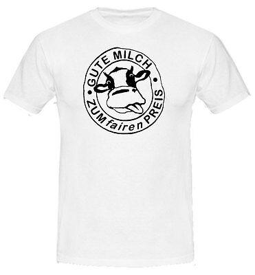 BAUERN T-Shirt | Gute Milch, zum fairen Preis | Milch-Bauer | Protest  10-106