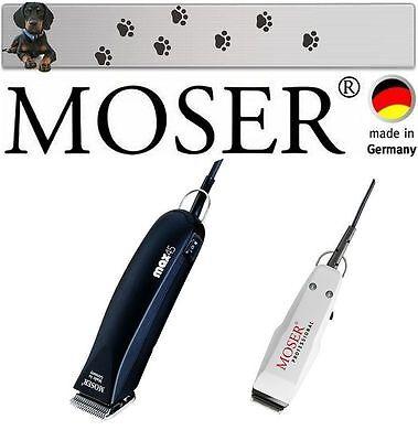 Moser Max 45 Esquiladora Profesional + Mini Trimmer Acabado Para Cara Patas