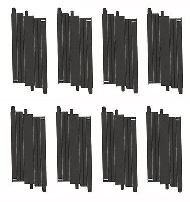 """Micro Scalextric 1:64 Track - G103 / L7551 - 6"""" Short Straights x 8"""