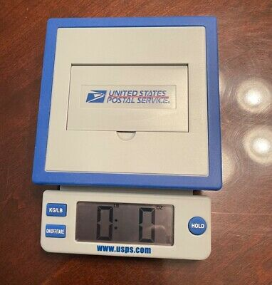 Genuine United States Postal Service 10lb Digital Table Scale 2710 Lknew - Rare