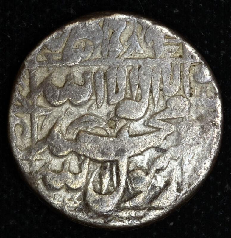 India-Mughal Empire 1 Rupee 1044/8 1635 silver Shah Jahan Qandahar Afghanistan