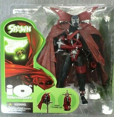 - SPAWN 1TH ANNIVERSARY FIGURE MCFARLANE TOYS IMAGE LEGENDS COMICS 2002 NEW