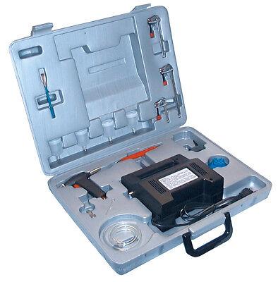 Güde Airbrush Komplett-Set 40405, Druckluftgerät, Kompressor