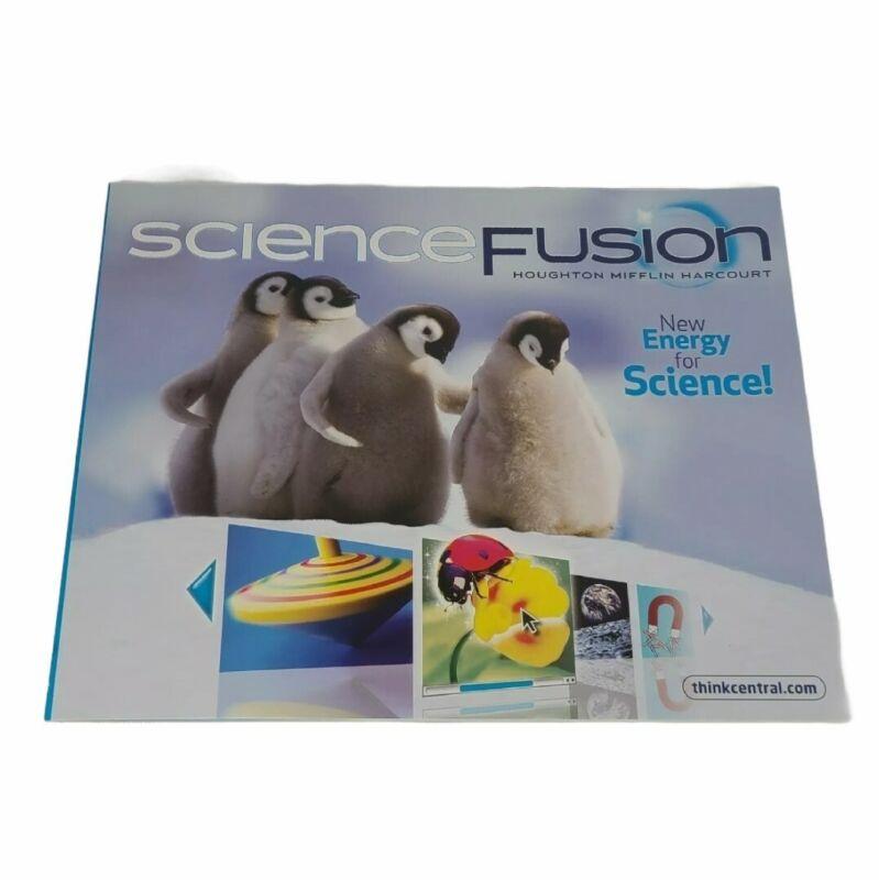 Grade K Science Fusion Student Worktext Edition 2012 ScienceFusion Homeschool