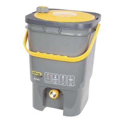 Hozelock BioMix Tank Natural Gardening Composter Homemade Fertiliser w/ Tap, 19L