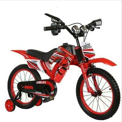 Kids Child Motorbike Bicycle New Boys/Girls Moto With Stabilizers 12''
