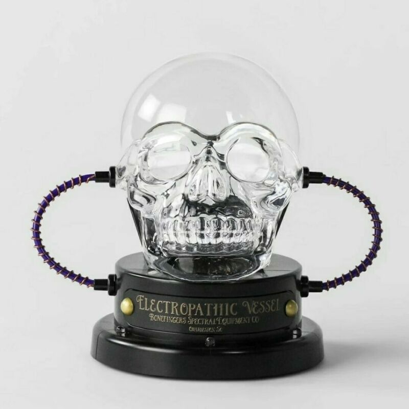 Hyde and Eek! - Halloween Skull Plasma Ball and LED Bulbs NEW!
