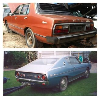 Wanted: Wanted Skyline r30, Datsun 240k, C210