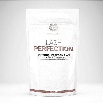PINKLAB Lash Perfection Best Lash Bonding Glue Eyelash Extensions (Best Lash Extension Glue)