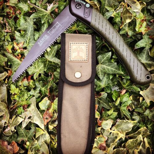 Bahco Laplander Saw Sheath - Hand made in the UK