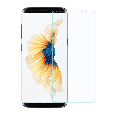 For Samsung Galaxy S8 Plus Clear Flat Tempered Glass Screen Cover Flat Tempered Glass