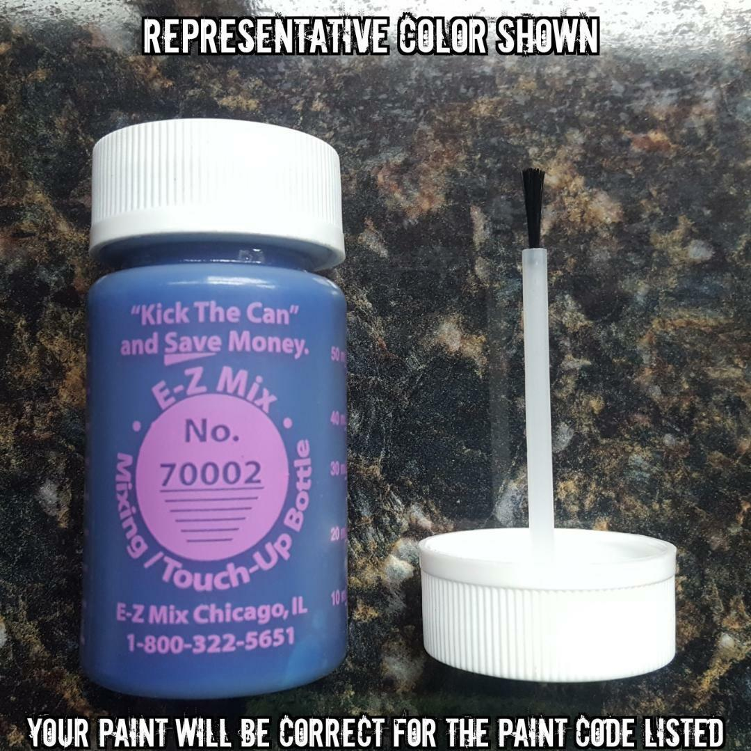 TOUCH UP PAINT FOR GM COLOR CODE WA928L, SLATE