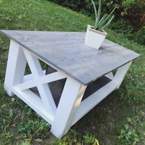 Beautiful Farm House Style Coffee Table