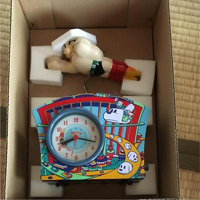 Astro Boy Tin Clock Watch Limited Vintage Unused Rare From JAPAN Free shipping